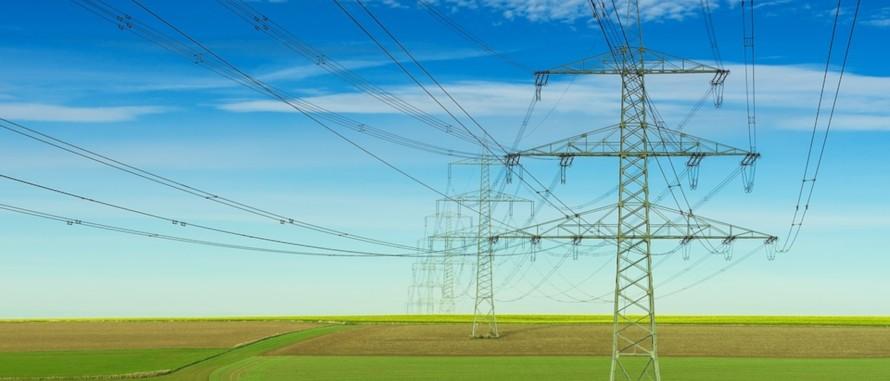 Stromleitungen über Privatgrundstücken