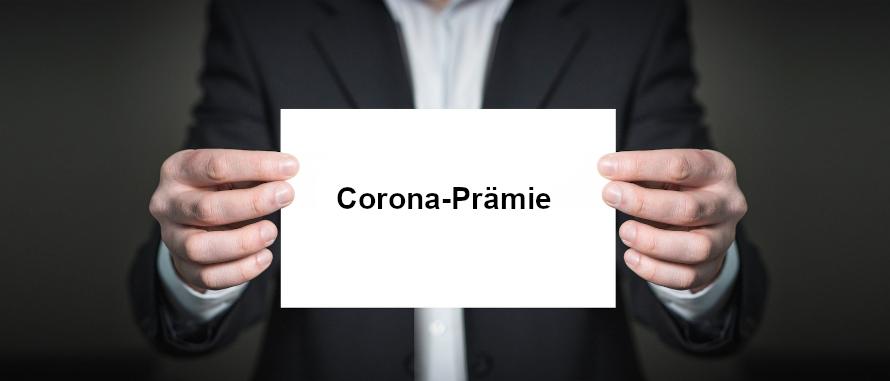 Corona-Prämie bis zu 1.500 Euro steuer- und sozialversicherungsfrei SHBB Bad Oldesloe